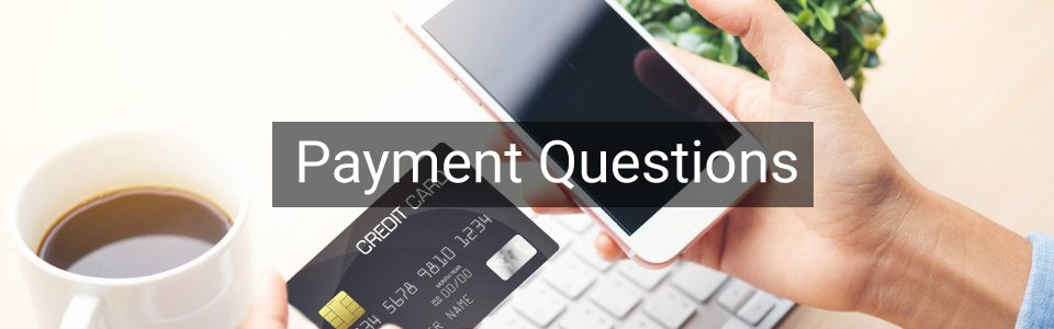 Payment Question Faq