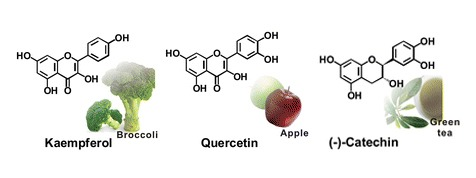 three well-known flavonoids found in cannabis