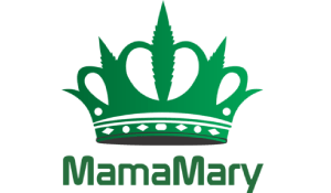 Logo of MamaMary with green crown