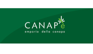 Logo of Canape with wite flower